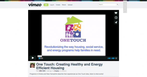 One Touch Releases Video — Listen to What Works